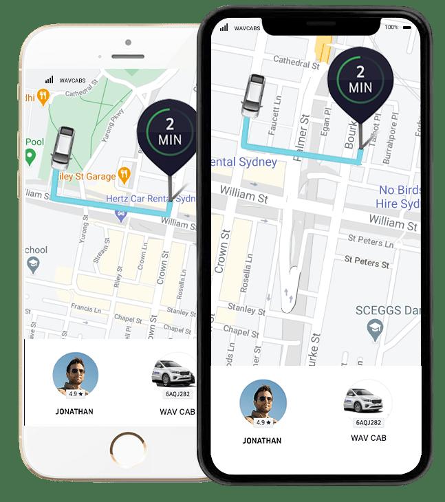sydney taxi app